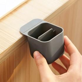 BLINGIRD Kotak Pensil Meja Holder Desktop Organizer Storage Box - AAA05 - Gray - 7