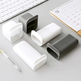 BLINGIRD Kotak Pensil Meja Holder Desktop Organizer Storage Box - AAA06 - Gray - 5