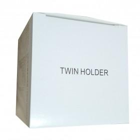 BLINGIRD Kotak Pensil Meja Holder Desktop Organizer Storage Box - AAA06 - Gray - 8