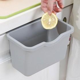 KITPIPI Kotak Laci Gantung Tambahan Serbaguna Hanging Trash Can Waste Bin - SQL9670 - Gray