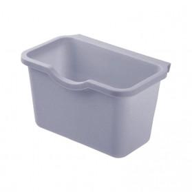 KITPIPI Kotak Laci Gantung Tambahan Serbaguna Hanging Trash Can Waste Bin - SQL9670 - Gray - 2