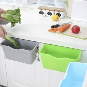 KITPIPI Kotak Laci Gantung Tambahan Serbaguna Hanging Trash Can Waste Bin - SQL9670 - Gray - 3