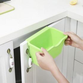 KITPIPI Kotak Laci Gantung Tambahan Serbaguna Hanging Trash Can Waste Bin - SQL9670 - Gray - 5