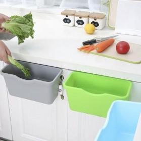 KITPIPI Kotak Laci Gantung Tambahan Serbaguna Hanging Trash Can Waste Bin - SQL9670 - Gray - 6