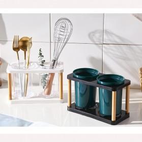 Love Life Rak Organizer Dapur Tempat Sendok Garpu Kitchen Storage Box - LL250 - Transparent - 2