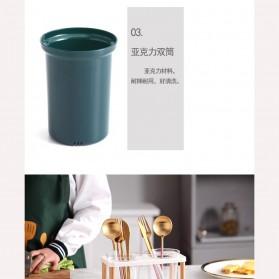 Love Life Rak Organizer Dapur Tempat Sendok Garpu Kitchen Storage Box - LL250 - Transparent - 4