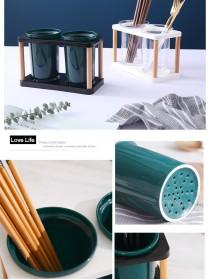 Love Life Rak Organizer Dapur Tempat Sendok Garpu Kitchen Storage Box - LL250 - Transparent - 8