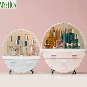 Mystica Rak Make Up Kosmetik Storage Box Bathroom Organizer Acrylic Desktop  - A1907 - Gray - 2
