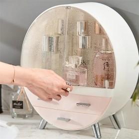 Mystica Rak Make Up Kosmetik Storage Box Bathroom Organizer Acrylic Desktop  - A1907 - Gray - 4