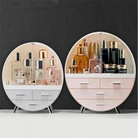 Mystica Rak Make Up Kosmetik Storage Box Bathroom Organizer Acrylic Desktop  - A1907 - Gray - 6
