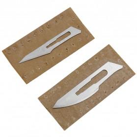 JIGONG Pisau Bedah Scalpel Surgical Blades Number 23 - TF0003 - Gray - 5