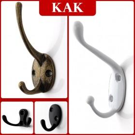 KAK Gantungan Dinding Hook Hanger Screw Rack - H116 - Bronze - 2
