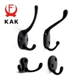 KAK Gantungan Dinding Hook Hanger Screw Rack - H116 - Bronze - 3