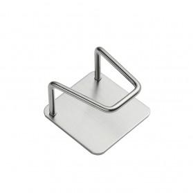 ECOCO Gantungan Organizer Rak Dapur Stainless Steel - ECKS2 - Silver - 6