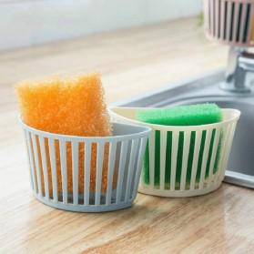 CELLDEAL Rak Gantung Cuci Piring Kitchen Drain Basket Dapur - VC25 - Pink - 5