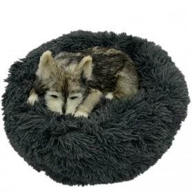 DCPET Tempat Tidur Anjing Soft Dog Bed 60cm - CDP5 - Gray