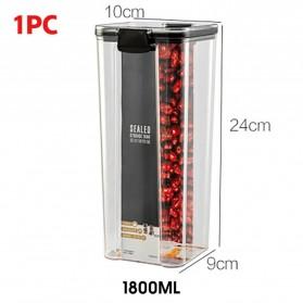 OTHERHOUSE Toples Wadah Penyimpanan Makanan Food Storage Container 1800ML - FTK227 - Transparent
