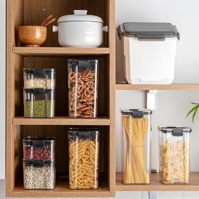 TaffHOME Toples Wadah Penyimpanan Makanan Food Storage Container 700ML - FTK227 - Transparent - 4