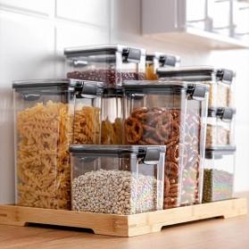 TaffHOME Toples Wadah Penyimpanan Makanan Food Storage Container 700ML - FTK227 - Transparent - 5