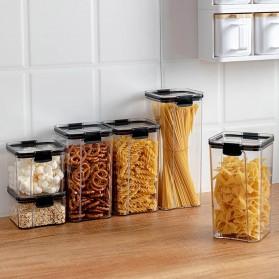 TaffHOME Toples Wadah Penyimpanan Makanan Food Storage Container 700ML - FTK227 - Transparent - 6