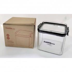 TaffHOME Toples Wadah Penyimpanan Makanan Food Storage Container 700ML - FTK227 - Transparent - 9