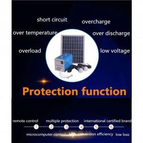 SUNNY SKY Solar Power Lighting System Set Accu Panel Controller 12V 7AH 40W with 2 x LED Bulb - TY-050A - 4