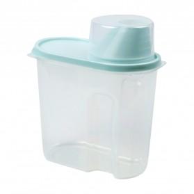 OTHERHOUSE Toples Wadah Penyimpanan Makanan Food Storage Container 1.9L 1PCS - H1211 - Blue - 7