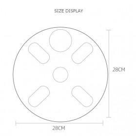 Mrosaa Smart Scale Timbangan Badan Pintar Bluetooth - BFW1 - White - 7