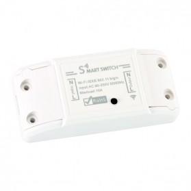 Tuya WiFi Smart Switch Light Sensor Universal Breaker Timer - JL-SS-02 - White - 2