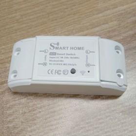 Tuya WiFi Smart Switch Light Sensor Universal Breaker Timer - JL-SS-02 - White - 3