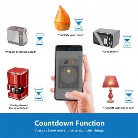 Tuya WiFi Smart Switch Light Sensor Universal Breaker Timer - JL-SS-02 - White - 4