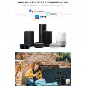Tuya WiFi Smart Switch Light Sensor Universal Breaker Timer - JL-SS-02 - White - 5