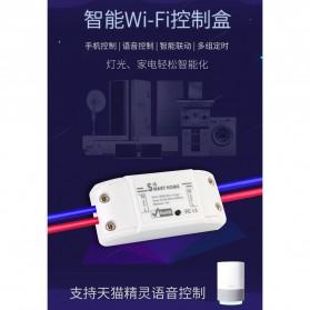 Tuya WiFi Smart Switch Light Sensor Universal Breaker Timer - JL-SS-02 - White - 7