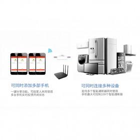 Tuya WiFi Smart Switch Light Sensor Universal Breaker Timer - JL-SS-02 - White - 9