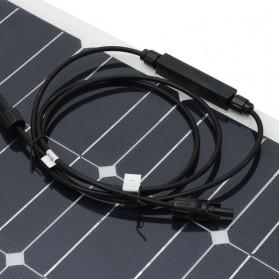 ALLPOWER Flexible Solar Panel 3M Cable 12V 200W  - BPS32 - Black - 8
