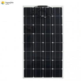 ALLPOWER Flexible Solar Panel 3M Cable 12V 100W  - BPS32 - Black - 4