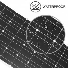 ALLPOWER Flexible Solar Panel 3M Cable 12V 100W  - BPS32 - Black - 5