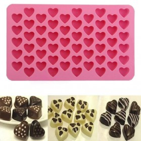 Winzwon Cetakan Coklat Es Batu Ice Cube Tray Mold Model Love - HP8163 - Pink