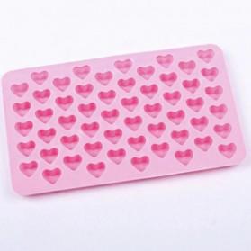 Winzwon Cetakan Coklat Es Batu Ice Cube Tray Mold Model Love - HP8163 - Pink - 3