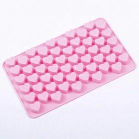 Winzwon Cetakan Coklat Es Batu Ice Cube Tray Mold Model Love - HP8163 - Pink - 4
