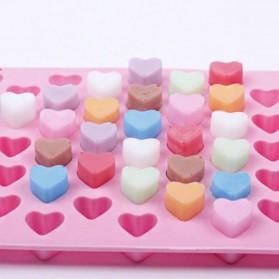 Winzwon Cetakan Coklat Es Batu Ice Cube Tray Mold Model Love - HP8163 - Pink - 5