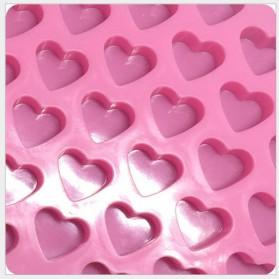 Winzwon Cetakan Coklat Es Batu Ice Cube Tray Mold Model Love - HP8163 - Pink - 6