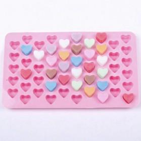 Winzwon Cetakan Coklat Es Batu Ice Cube Tray Mold Model Love - HP8163 - Pink - 7