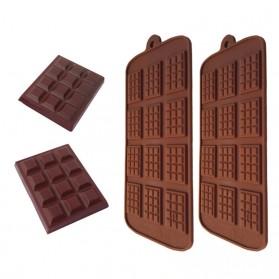 Winzwon Cetakan Coklat Es Batu Ice Cube Tray Mold Model Chocolate Bar - HP8164 - Chocolate - 3