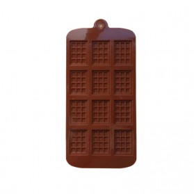 Winzwon Cetakan Coklat Es Batu Ice Cube Tray Mold Model Chocolate Bar - HP8164 - Chocolate - 5