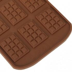 Winzwon Cetakan Coklat Es Batu Ice Cube Tray Mold Model Chocolate Bar - HP8164 - Chocolate - 6