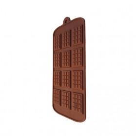 Winzwon Cetakan Coklat Es Batu Ice Cube Tray Mold Model Chocolate Bar - HP8164 - Chocolate - 8