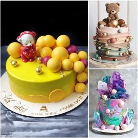 Winzwon Cetakan Coklat Es Batu Ice Cube Tray Mold Model 15 Ball - DU995 - Chocolate - 3