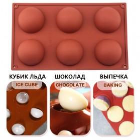 Winzwon Cetakan Coklat Es Batu Ice Cube Tray Mold Model 15 Ball - DU995 - Chocolate - 7