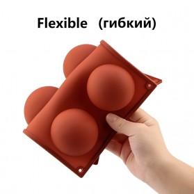 Winzwon Cetakan Coklat Es Batu Ice Cube Tray Mold Model 15 Ball - DU995 - Chocolate - 8